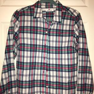 Women's Vineyard Vines Plaid Button Down